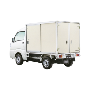 特装車カラー鋼板簡易保冷車